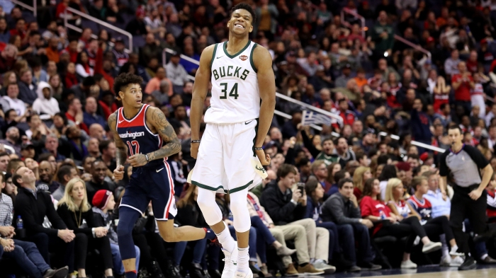 Milwaukee Bucks v Washington Wizards