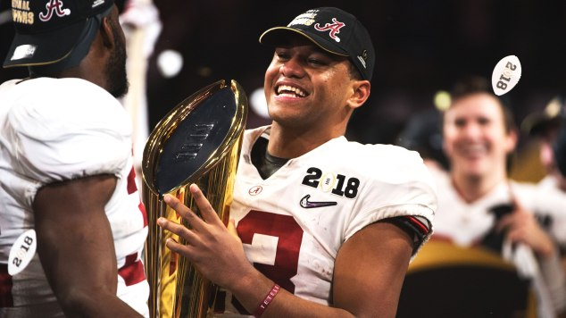 aef79e9664ee Alabama s Tua Tagovailoa is the first Samoan QB to win the national title