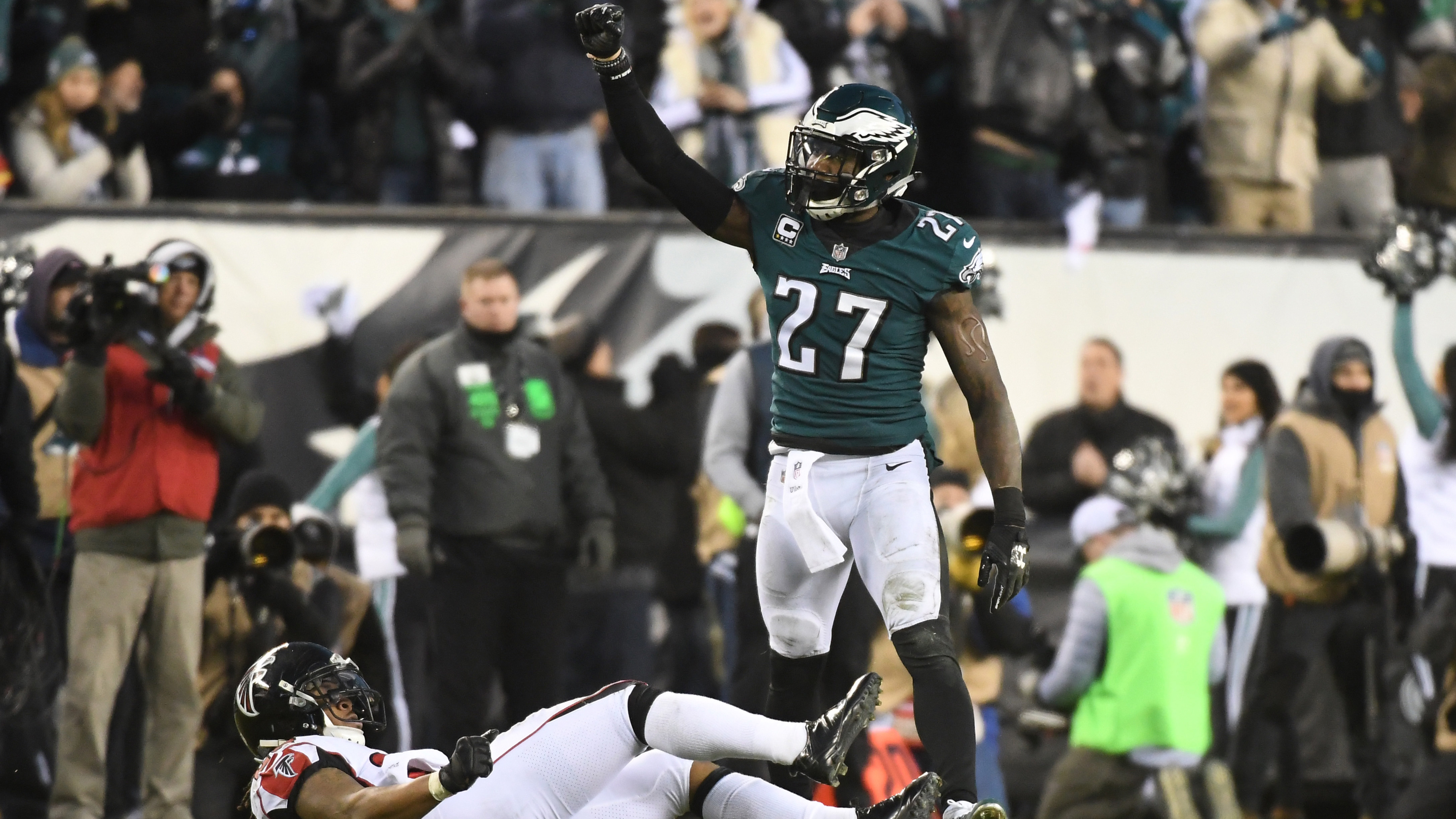 NFL: JAN 13 NFC Divisional Playoff  Falcons at Eagles