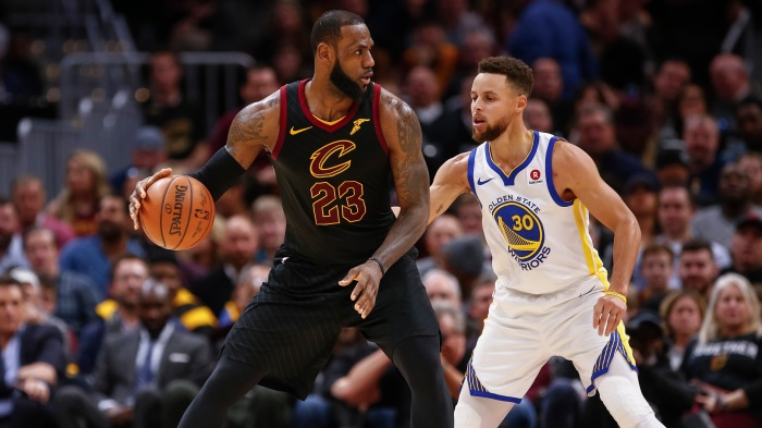 52ac8d0e89fd Playing the role  LeBron and Steph make their picks