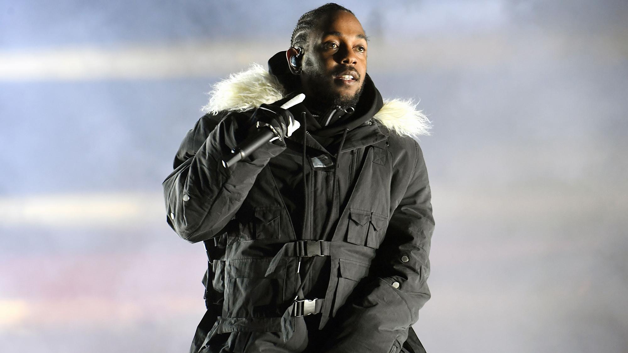 Kendrick Lamar makes history at CFP National Championship