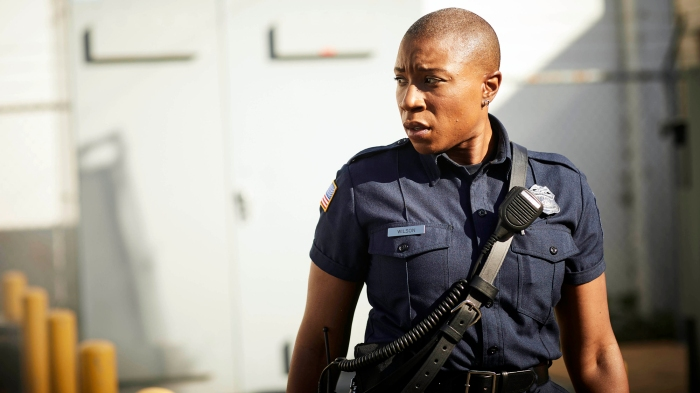 Aisha Hinds Harriet Tubman From Underground Is Rolling With