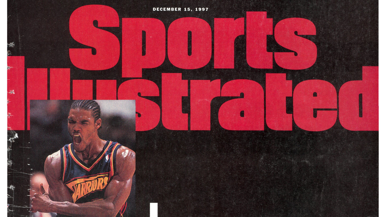 4518aa447 A look back at Latrell Sprewell s very angry  Sports Illustrated  cover