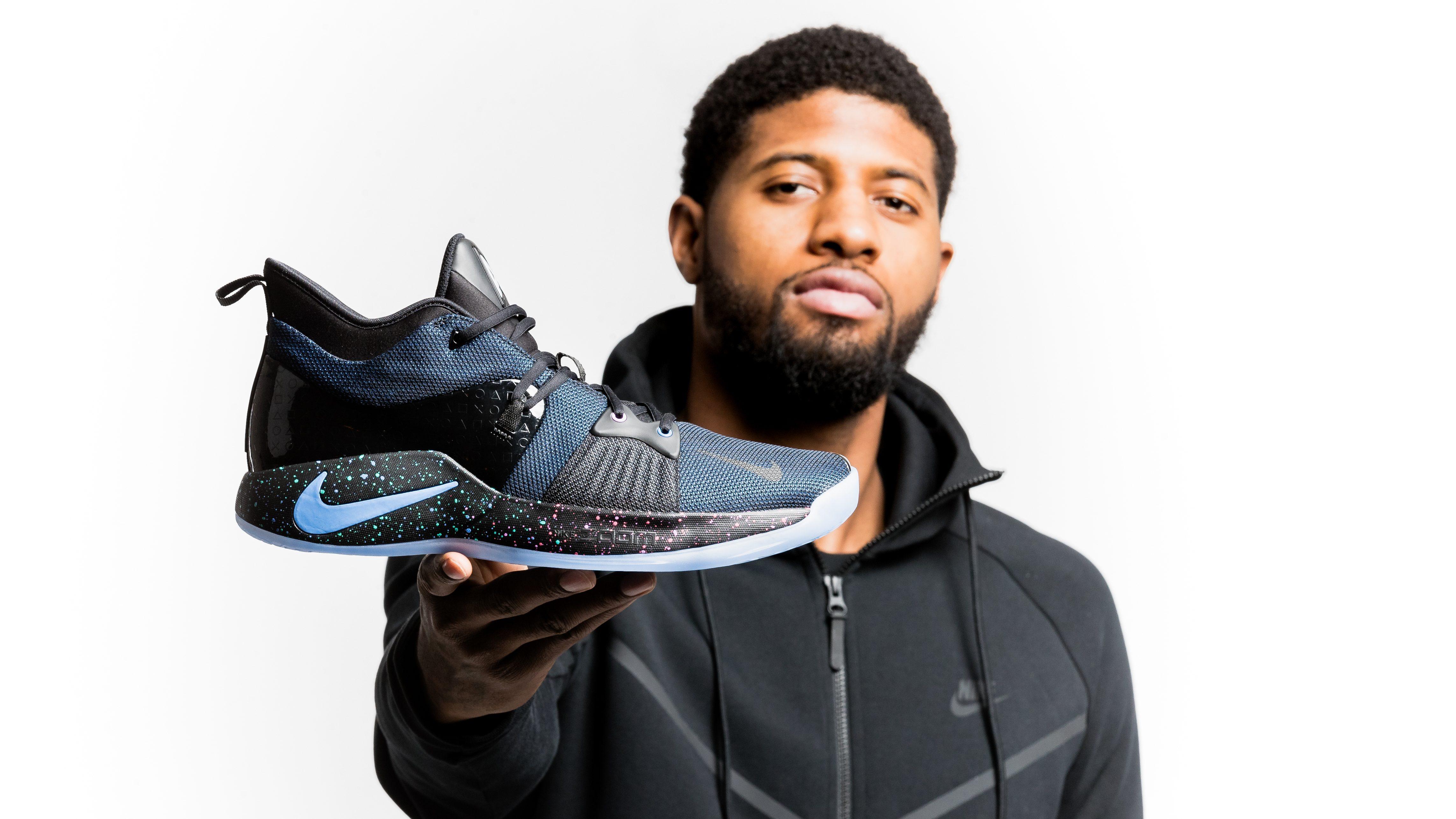 signature sneaker — the Nike PG2
