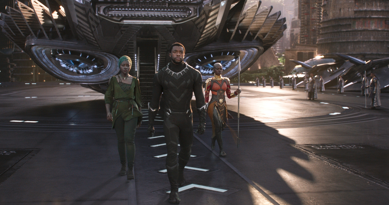 0fbf7a0c8 Black Panther — on and off-camera — is a woke superhero fantasy set in  today s reality