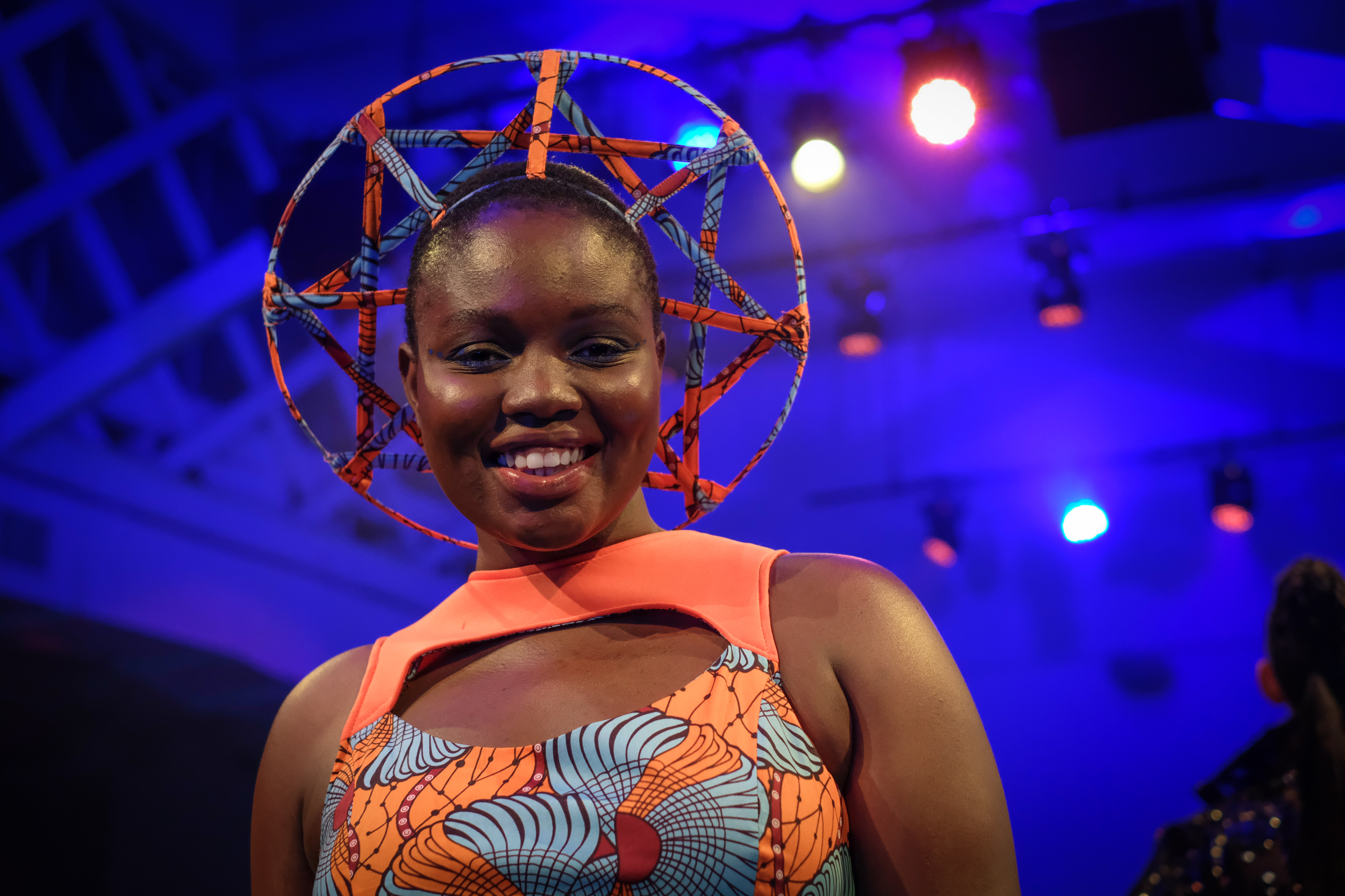 f6540bd9c78 A model showcases a design inspired by the Marvel comic and upcoming film  Black Panther during a Welcome to Wakanda event held during New York Fashion  Week ...