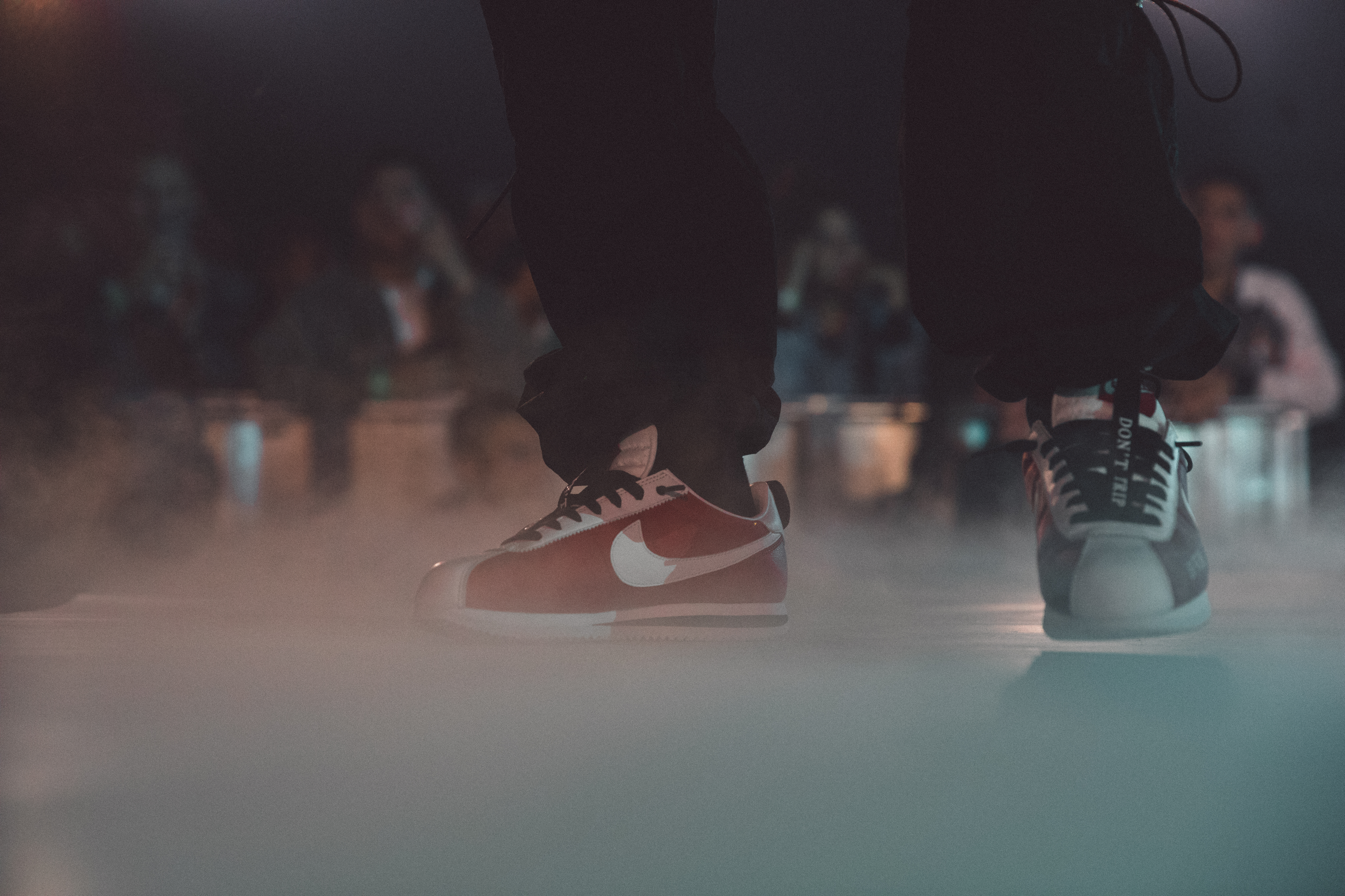 ... Lamar took the stage at Nike s Makers Headquarters on Feb. 17 in his  newly dropped Cortez Kenny IIs. An iconic L.A. shoe for an iconic L.A.  native. c09568fa5