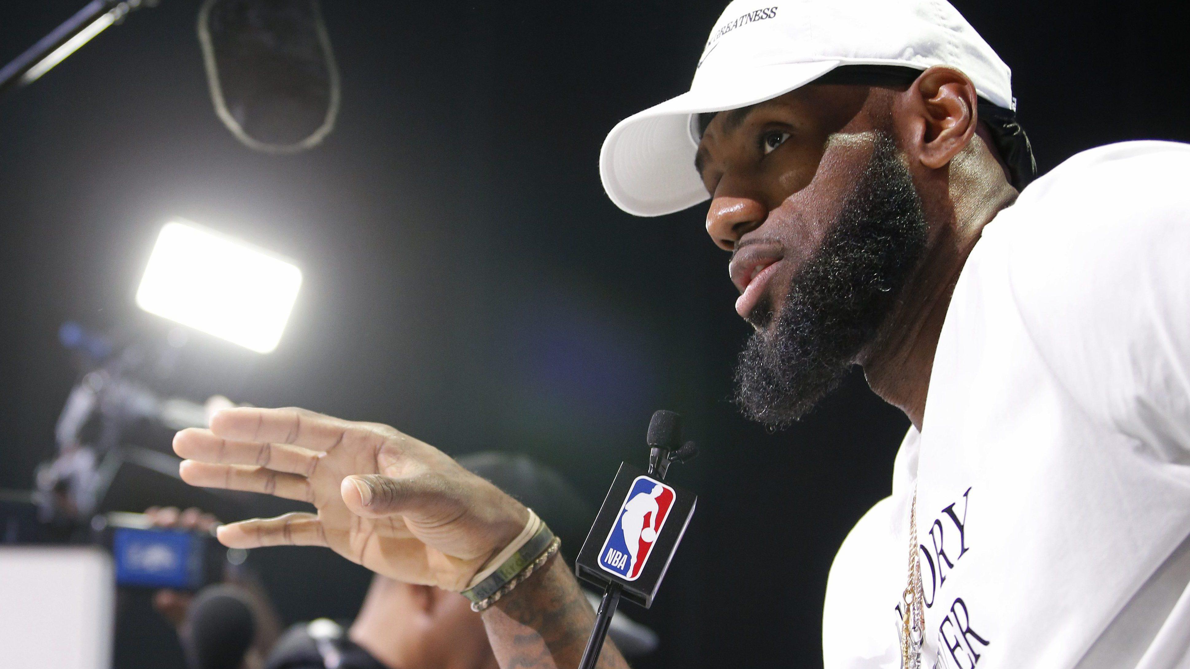 2018 NBA All-Star – Media Day