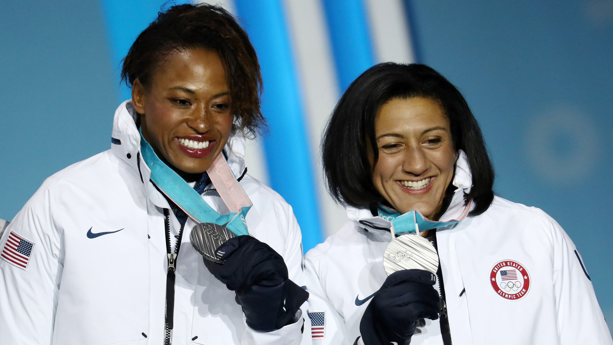 Medal Ceremony – Winter Olympics Day 13