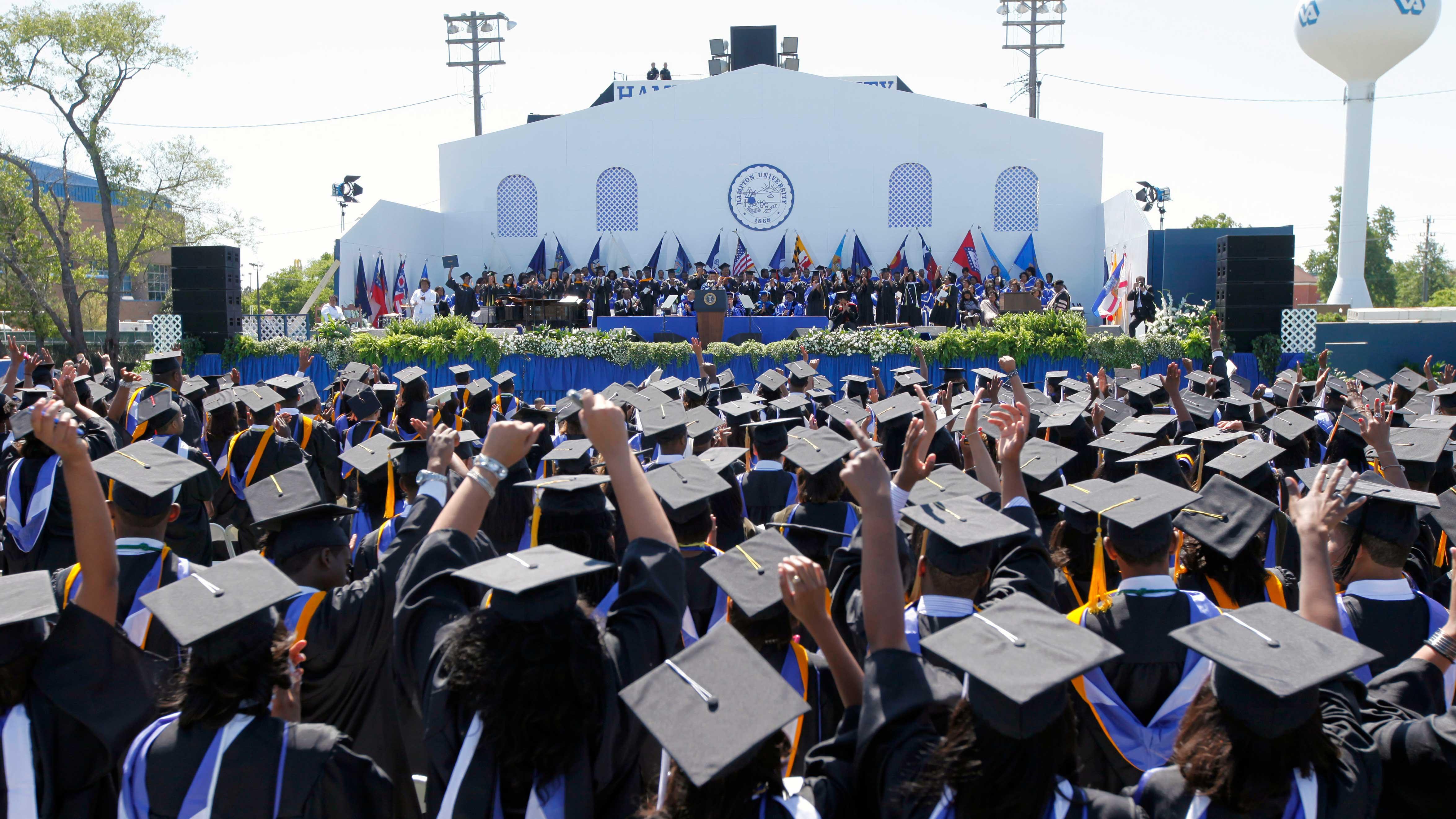 Obama Hampton University
