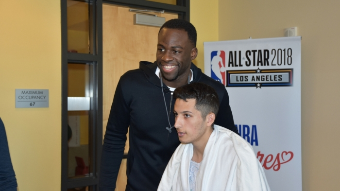 5b483c9989 NBA All-Star Weekend brings Draymond Green, Bradley Beal, Kyrie Irving and  others together to create memories at local children's hospital