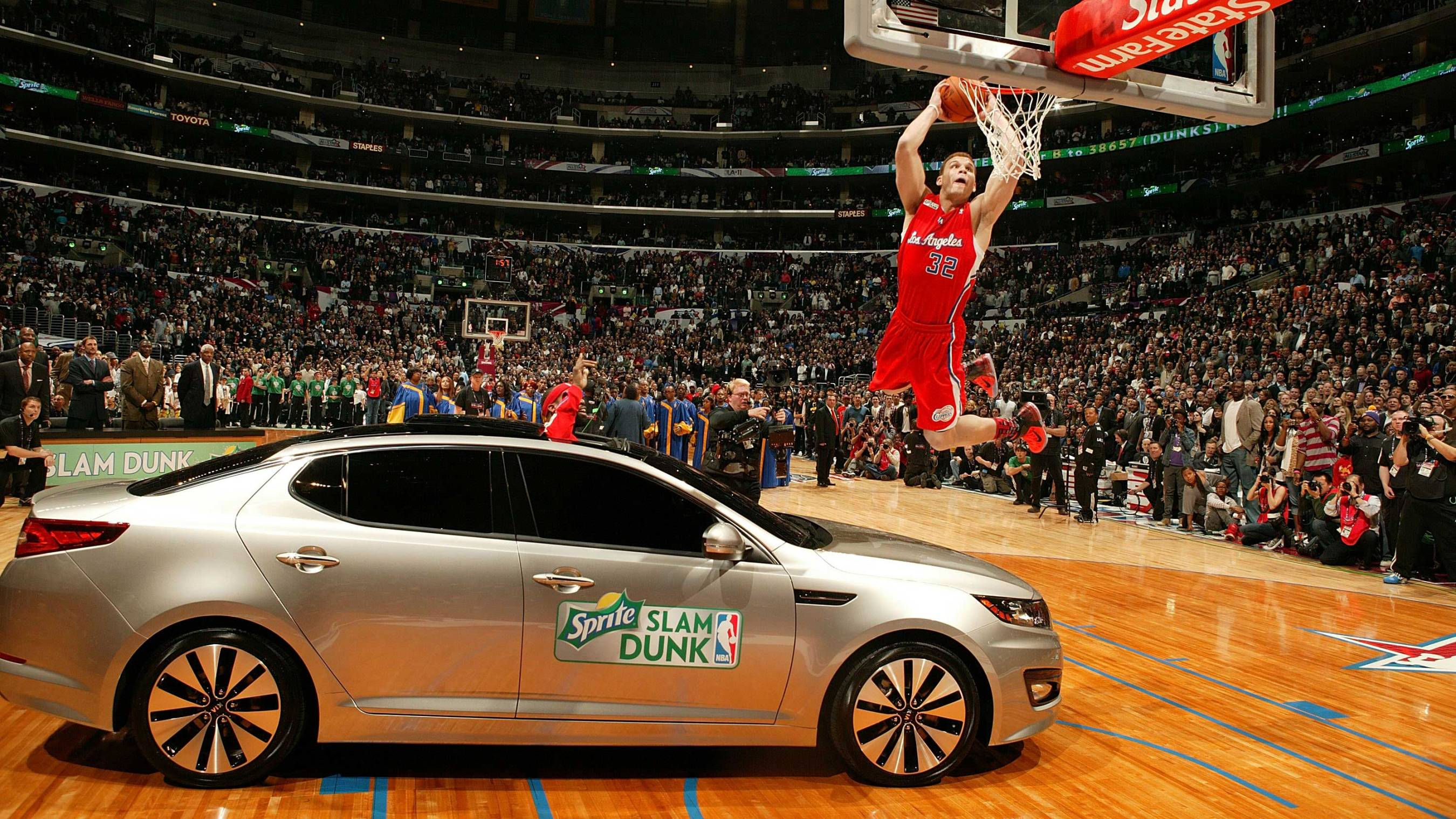 hot sale online 4fd81 b0d26 Blake Griffin jumps over a Kia and other memories from the 2011 Slam Dunk  Contest