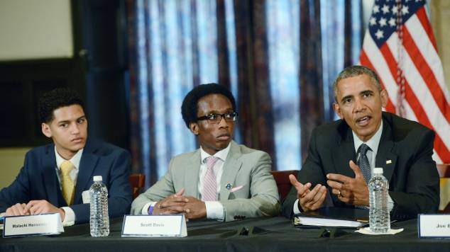 President Obama Launches The My Brother's Keeper Alliance At Lehman College