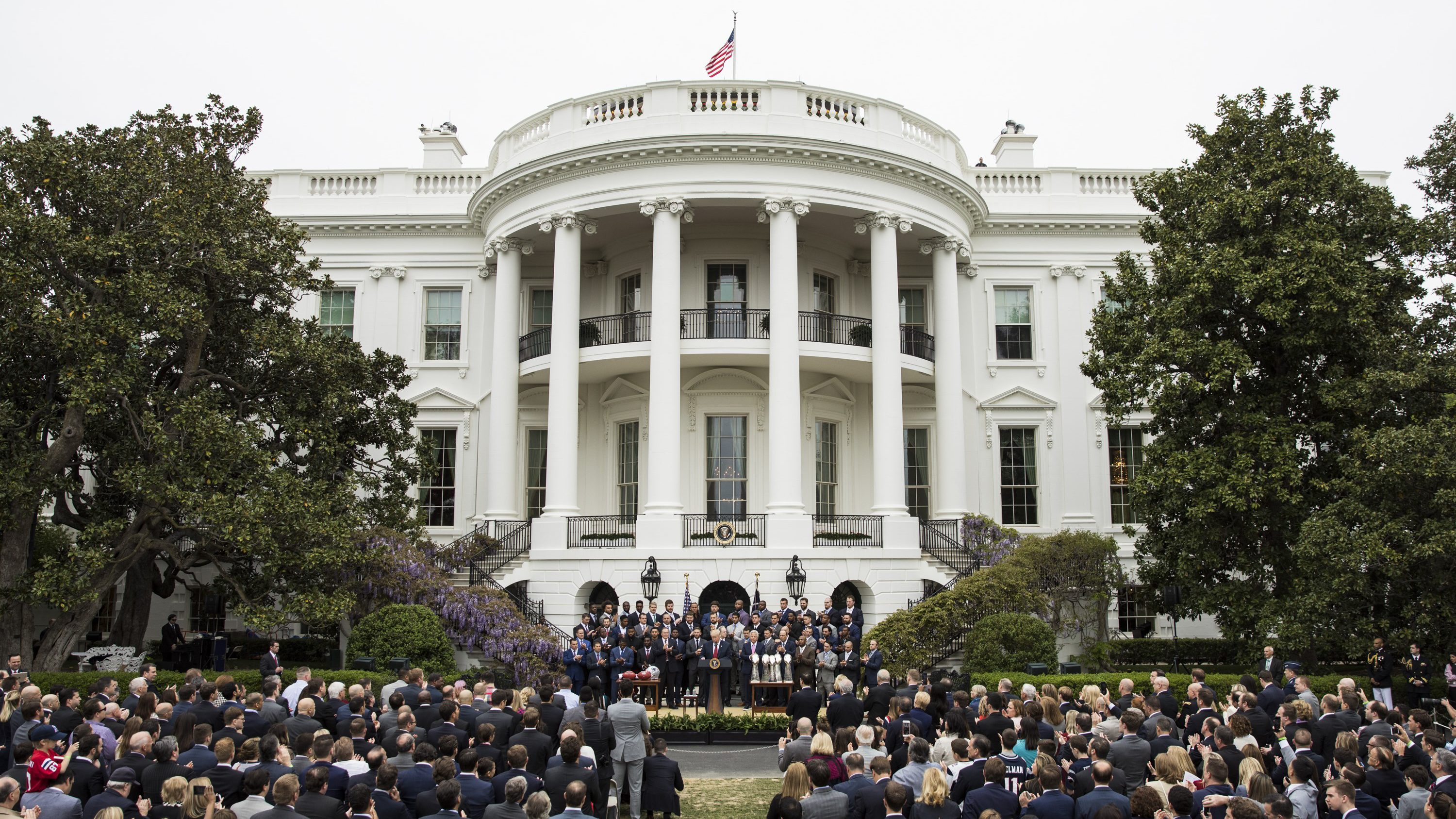 2017 Super Bowl Champions the New England Patriots Visit White House