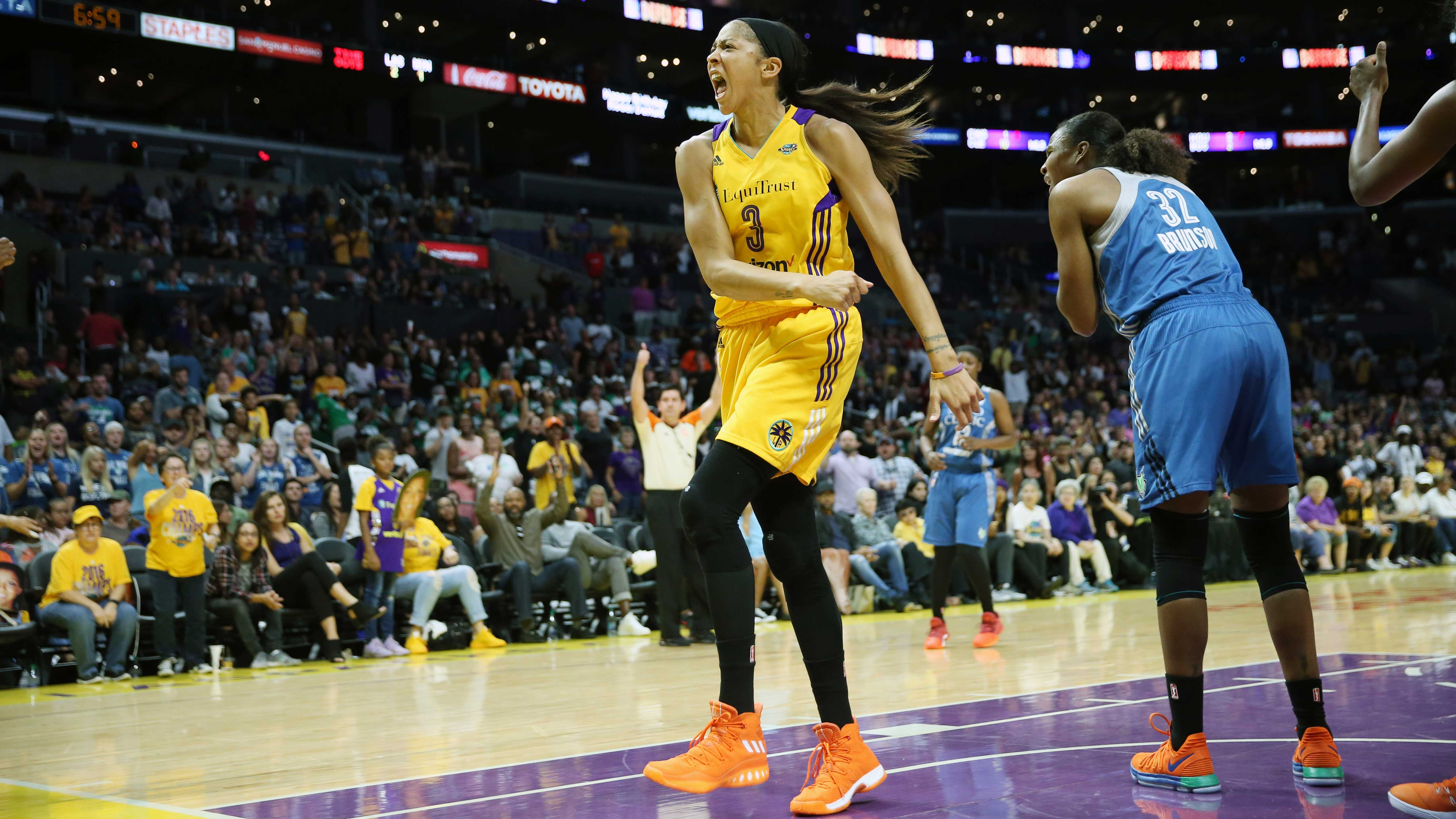 2017 WNBA Finals Game Three – Minnesota Lynx v Los Angeles Sparks