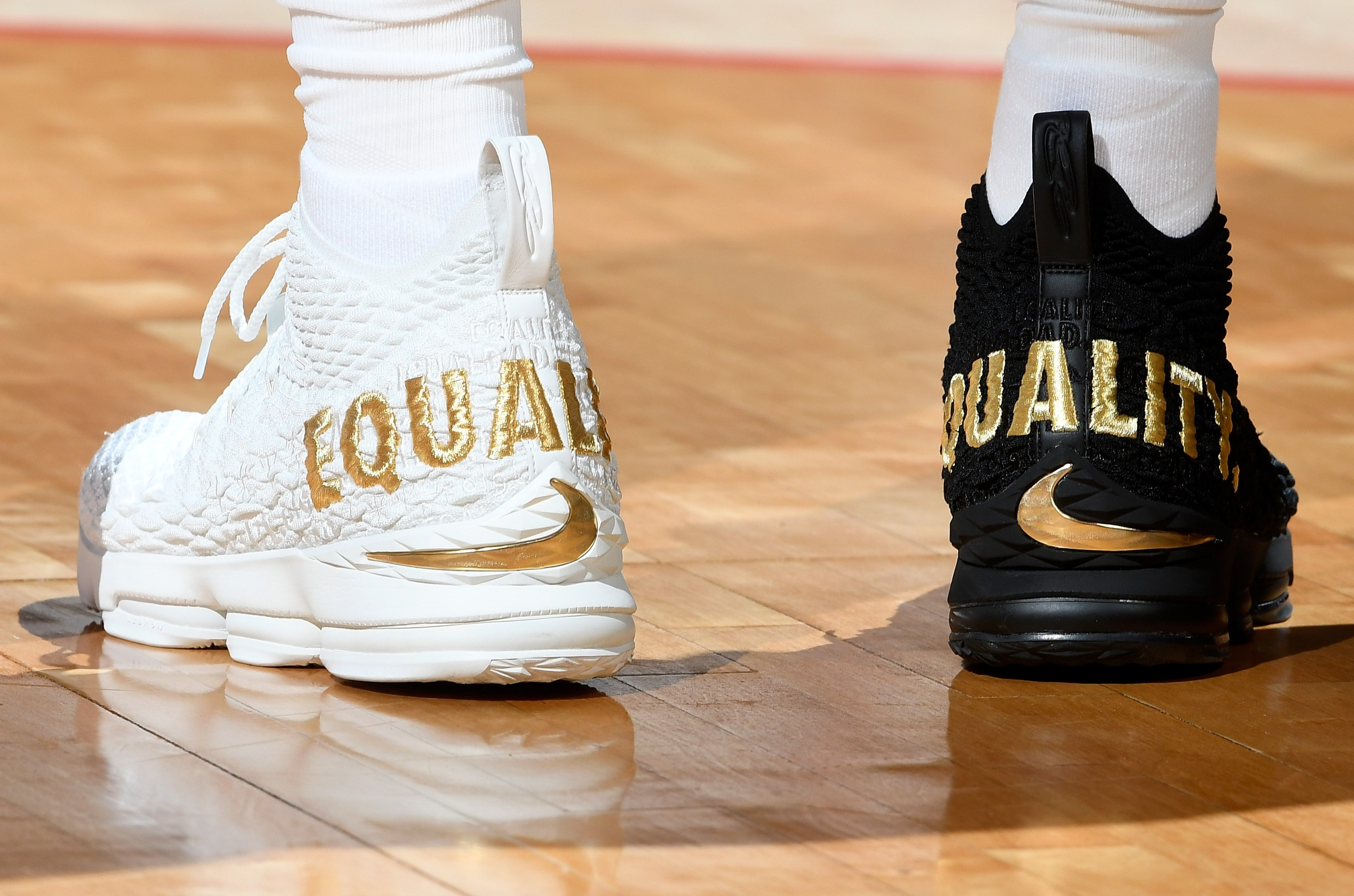 Nike Announces Limited Edition Release Of Equality Lebron 15s