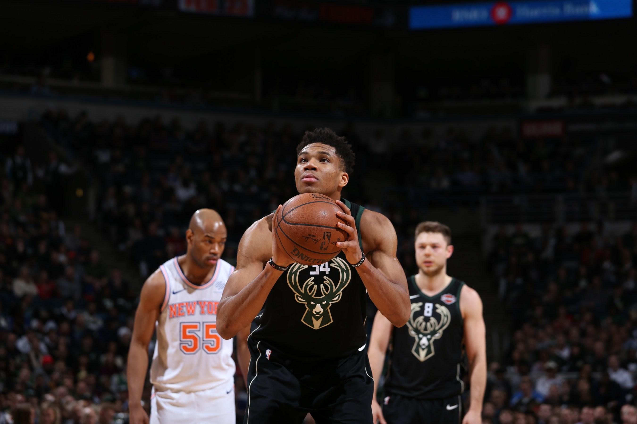 Giannis MVP Watch  Bucks vs. Knicks bb64629e2