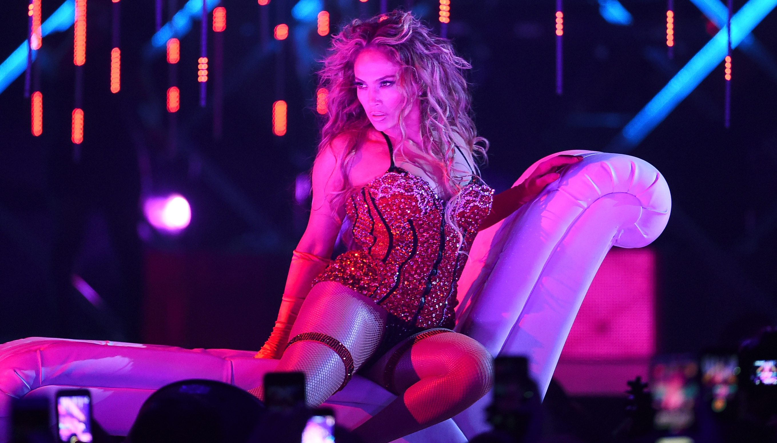 2018 DIRECTV NOW Super Saturday Night Concert In Minneapolis – Jennifer Lopez Performance