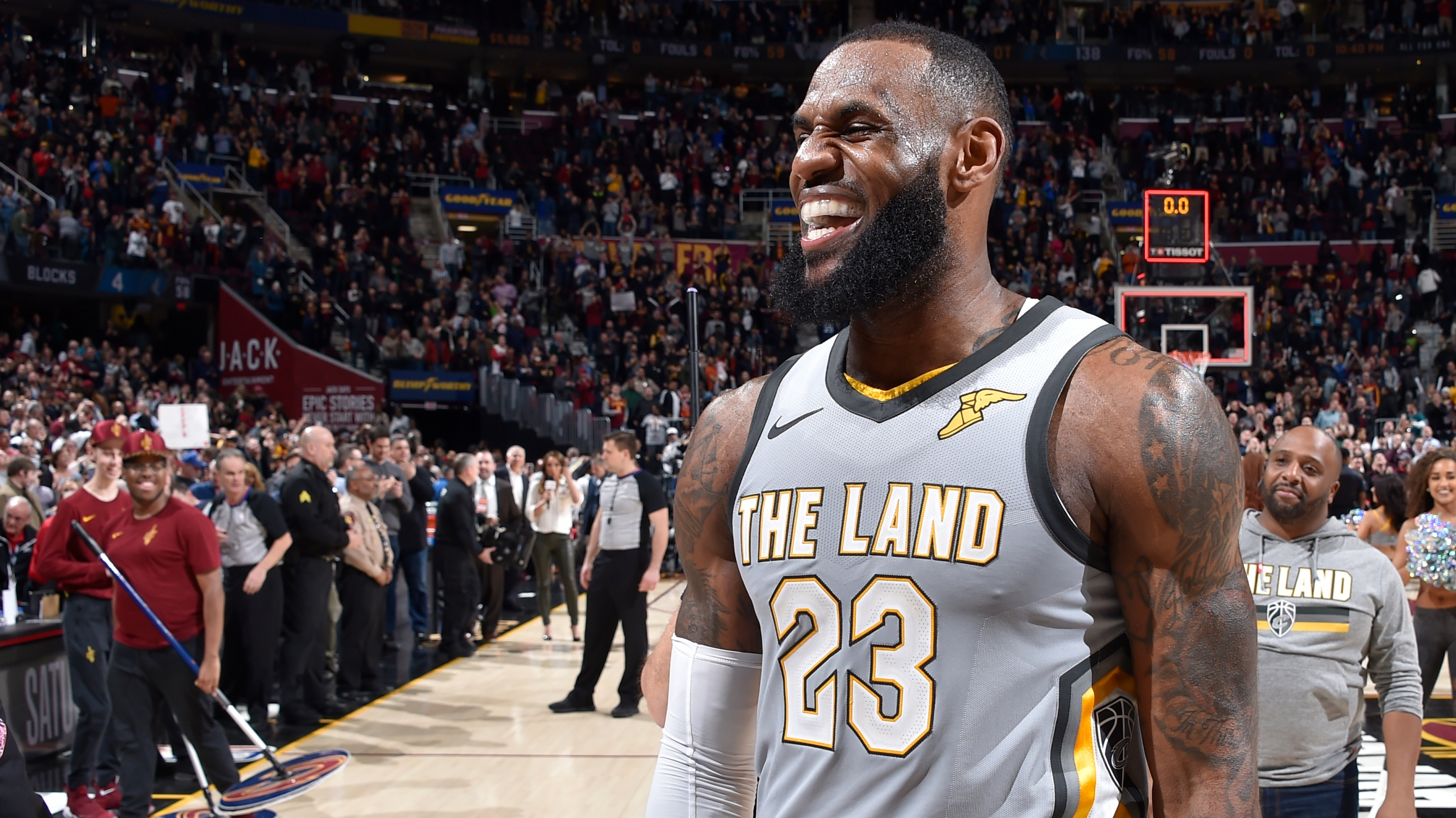 d41cb390c9f7 LeBron James must be singing the praises of trade deadline day