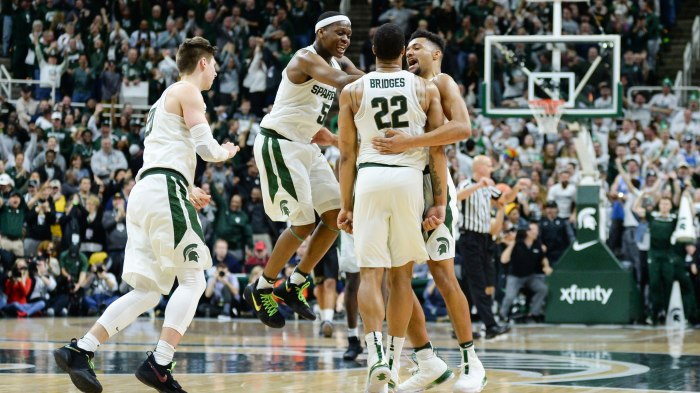 COLLEGE BASKETBALL: FEB 10 Purdue at Michigan State