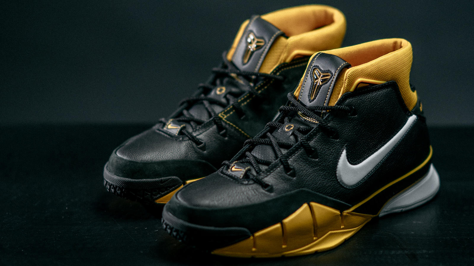 retro'ing his classic Nike Zoom Kobe 1
