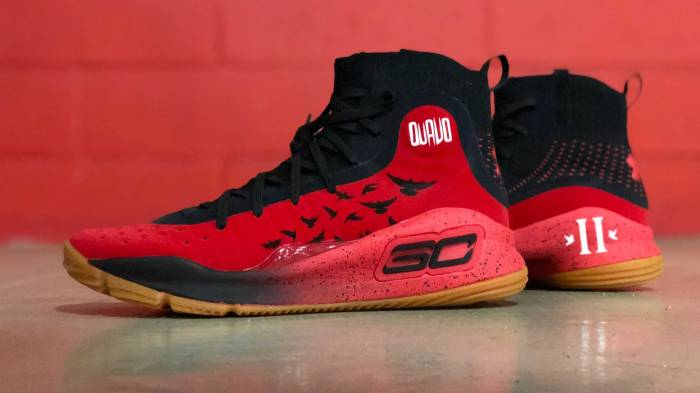 587bf4942808 The Migos  Quavo to rock custom LeBrons and Currys in the NBA Celebrity  All-Star Game