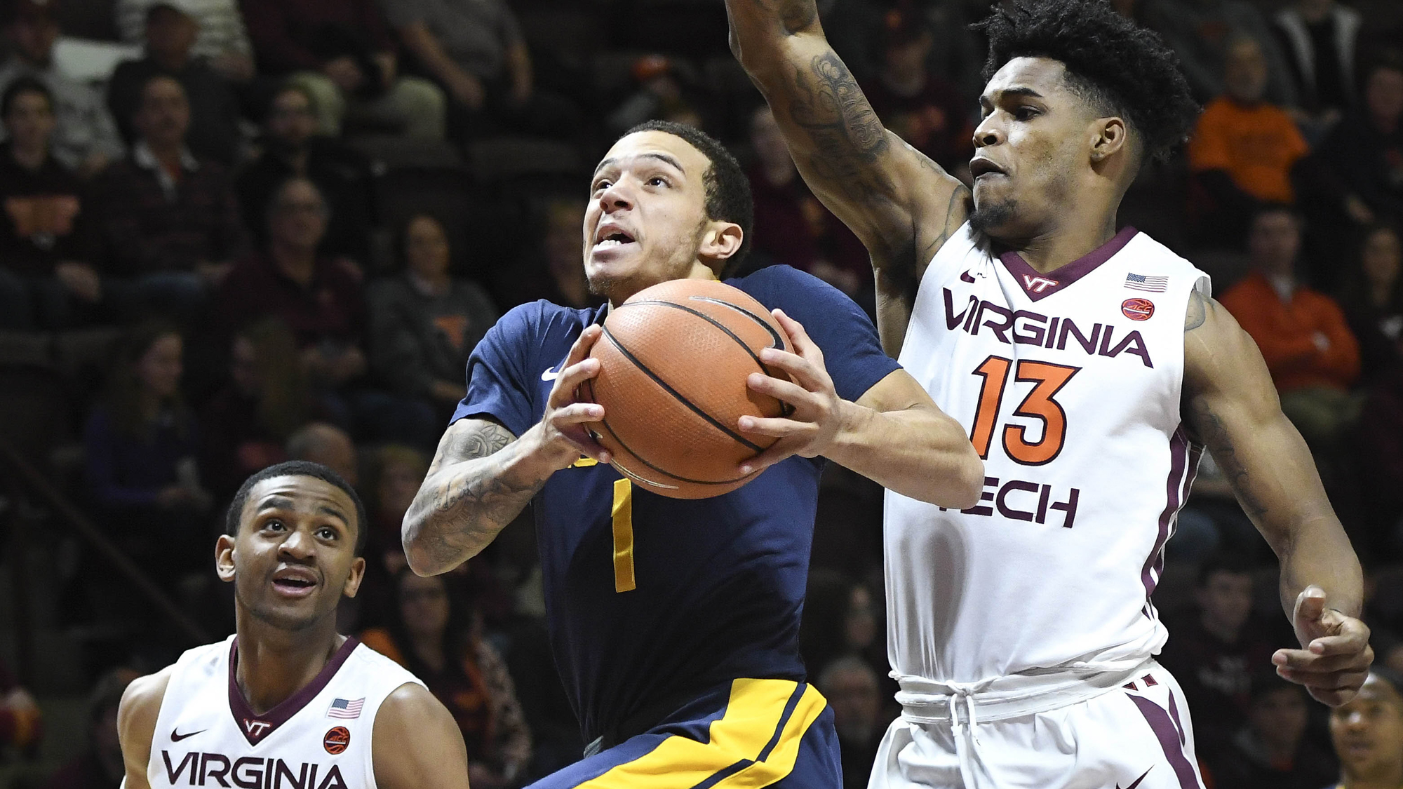 NCAA Basketball: No.Carolina A&T at Virginia Tech
