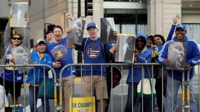 Warriors Parade Basketball