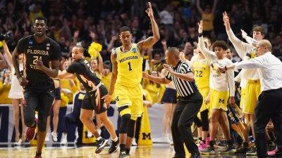 NCAA BASKETBALL: MAR 24 Div I Men's Championship – Elite Eight – Florida State v Michigan