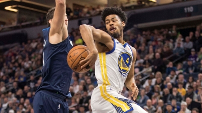 NBA: Golden State Warriors at Minnesota Timberwolves