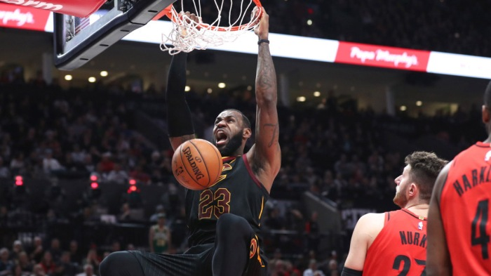 NBA: Cleveland Cavaliers at Portland Trail Blazers