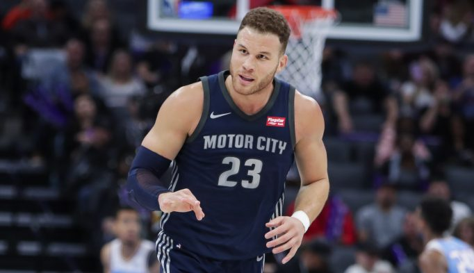 cheap for discount 9391e c94ff Blake Griffin is feeling at home with Pistons