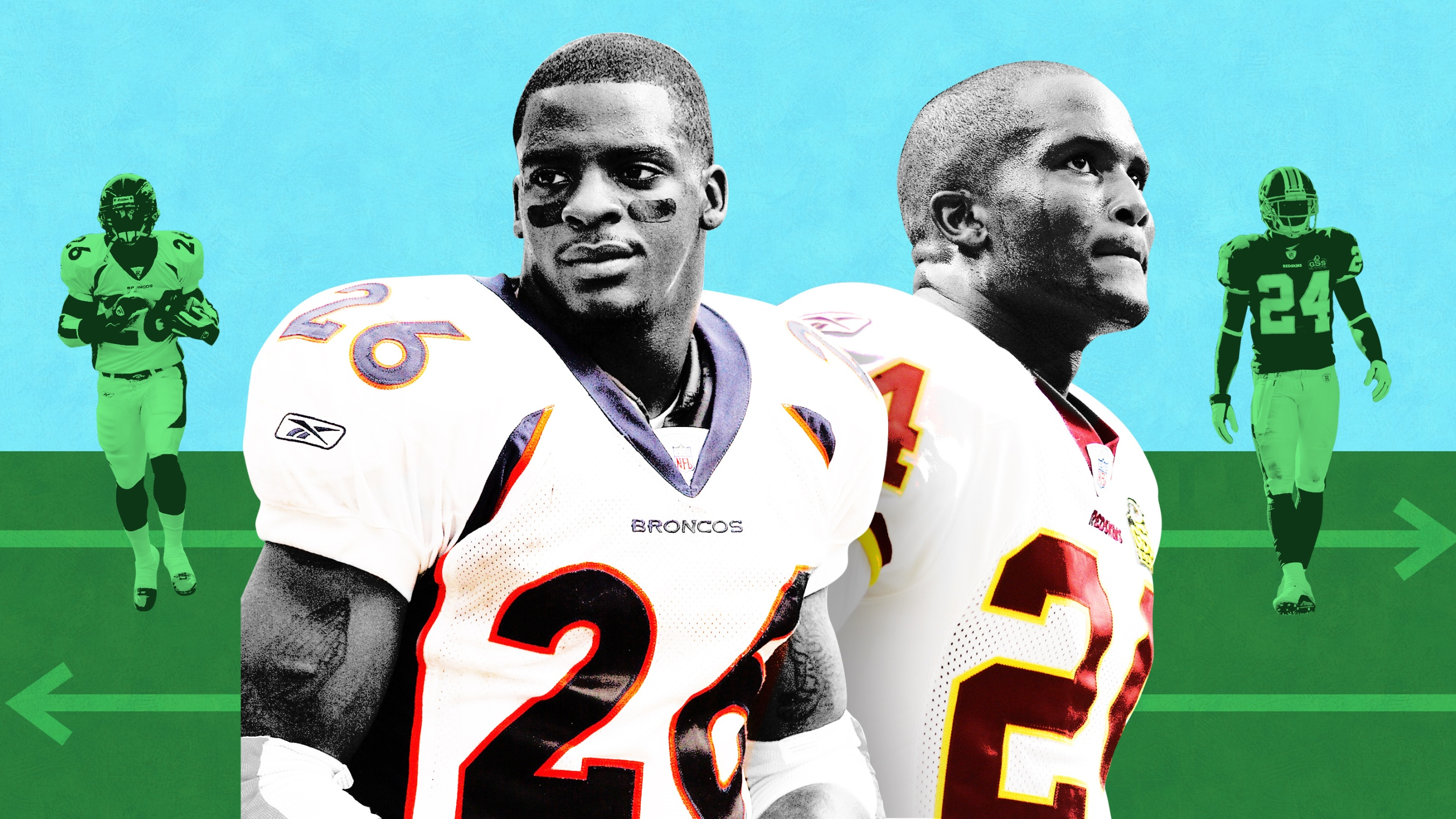5b7b9ea9840 Champ Bailey, Clinton Portis and their blockbuster trade
