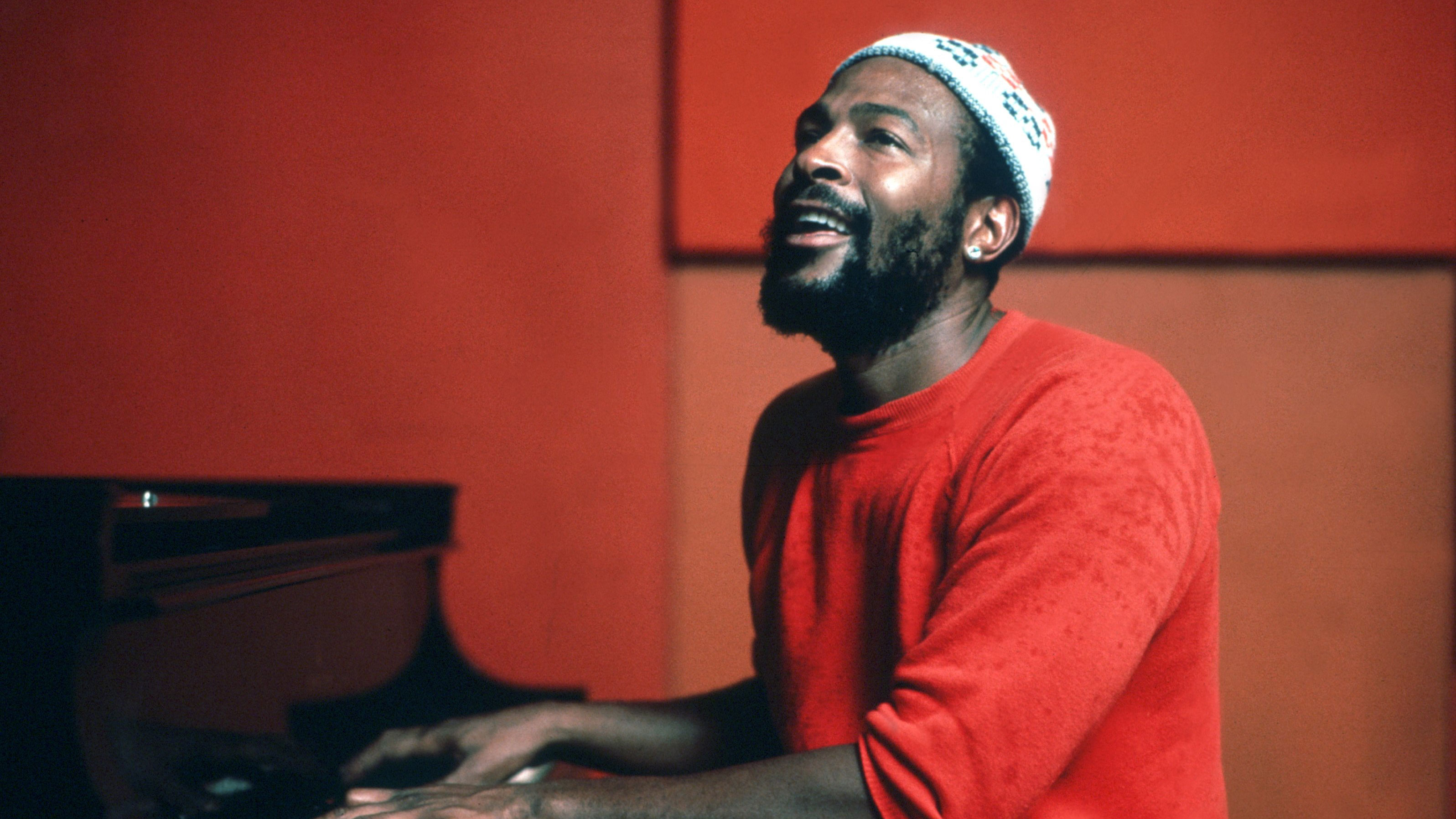 Soul Singer Playing Piano