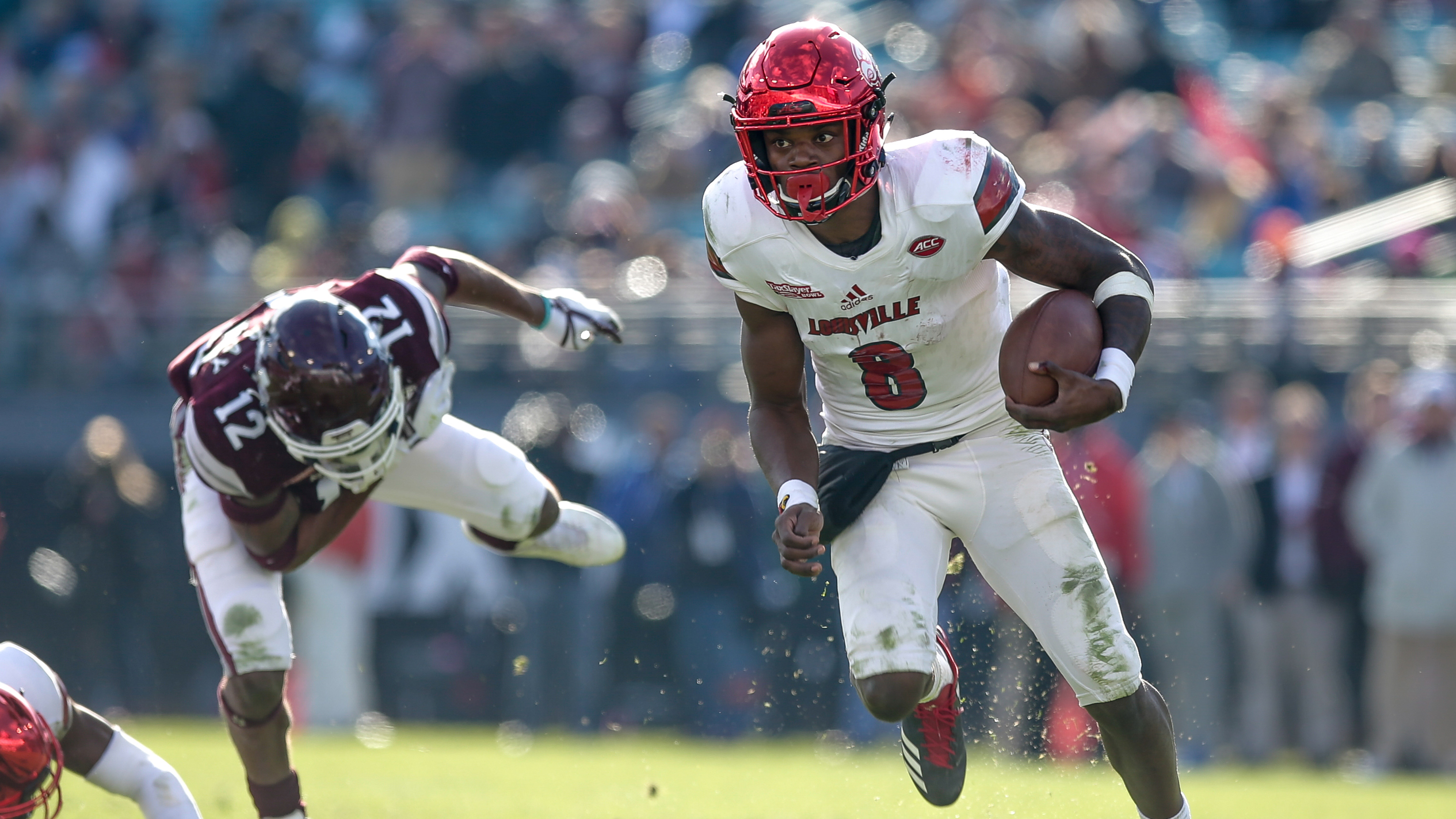 COLLEGE FOOTBALL: DEC 30 Taxslayer Bowl – Louisville v Mississippi St