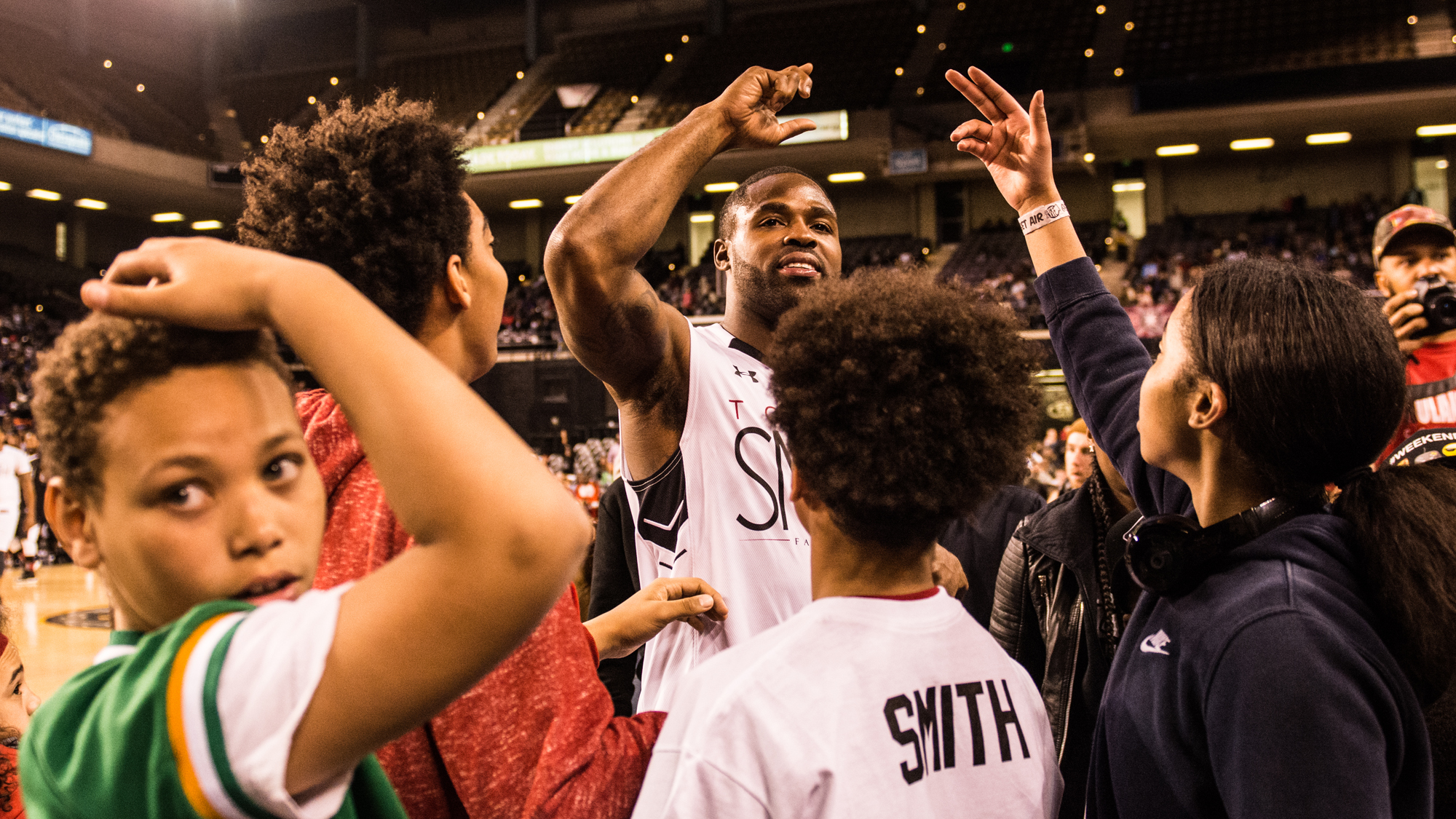 Torrey Smith Celebrity Basketball Game