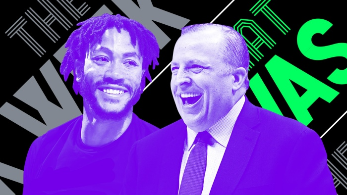 5b38cb051b6b Derrick Rose reunited with Tom Thibodeau and other news of the week