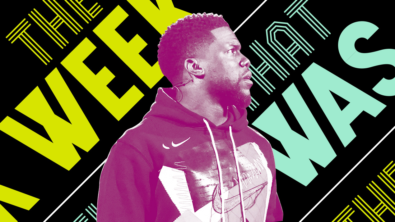 b78703219 Kevin Hart tried to recruit LeBron James to the 76ers and other news of the  week