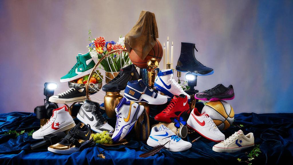 21b5dda871da4  Art of a Champion  exhibit celebrates best playoff sneakers from Nike