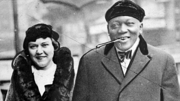 Mr And Mrs Jack Johnson