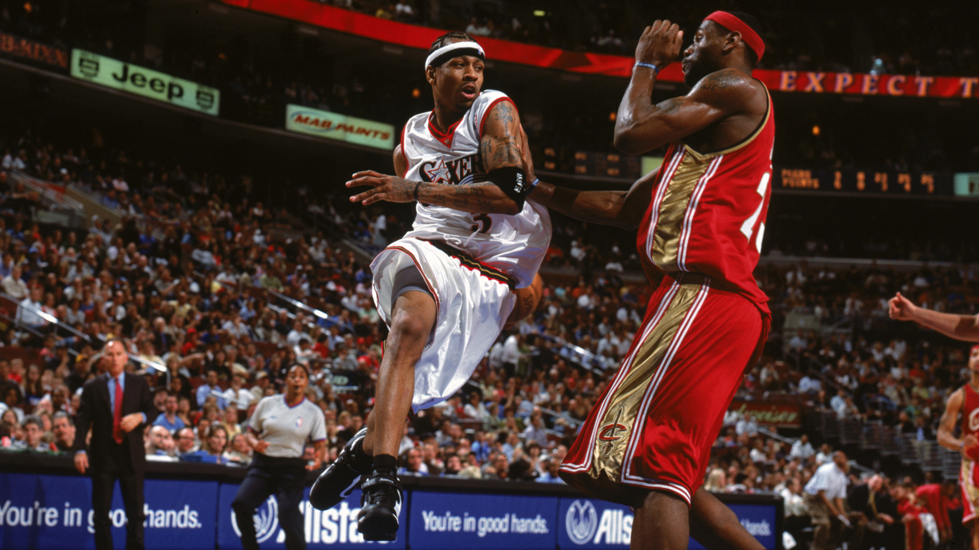 Without Allen Iverson, there would be no LeBron