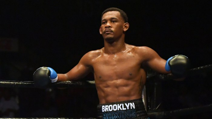 Middleweight Danny Jacobs' passion for Brooklyn helps him
