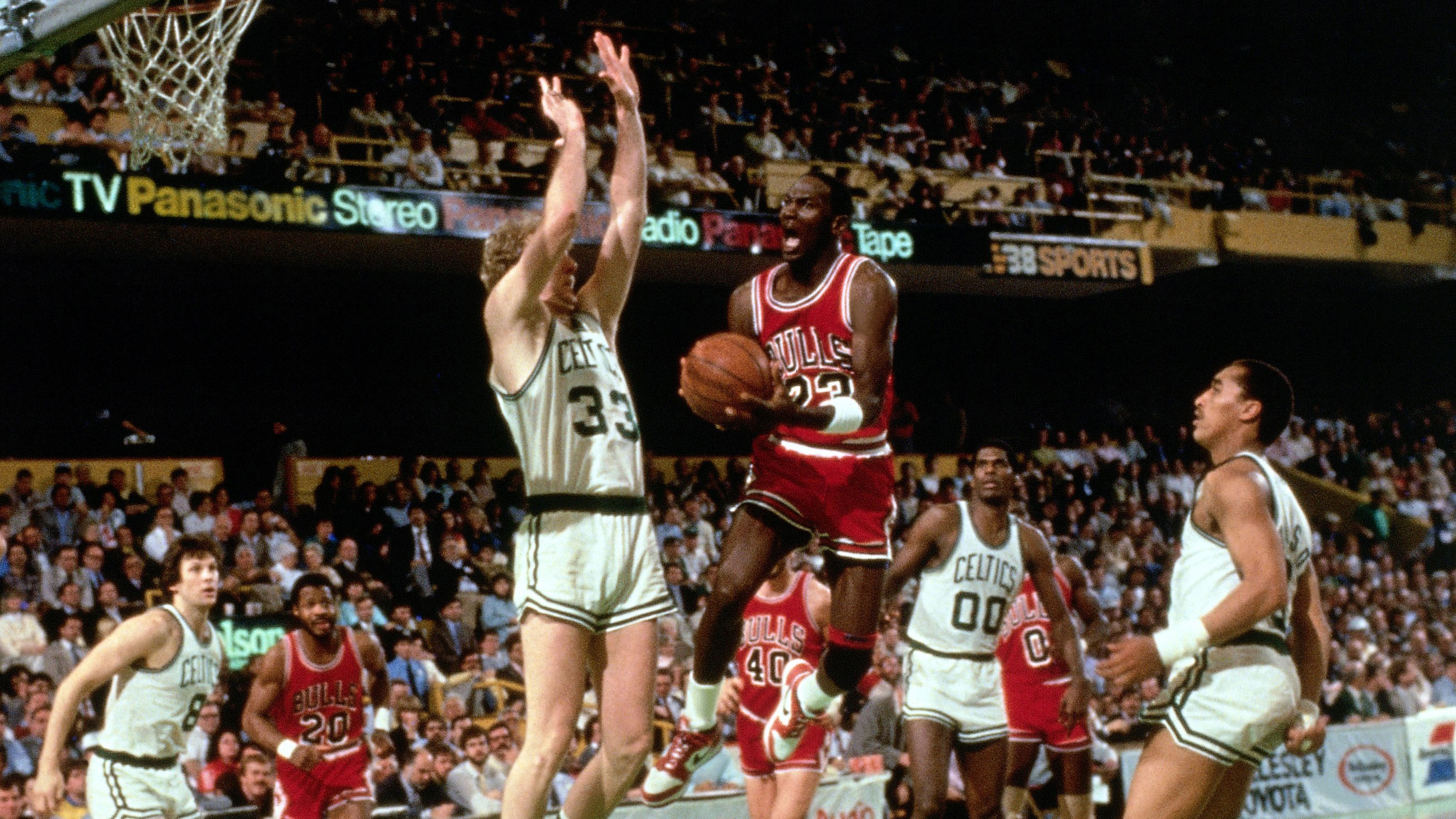 03f91381fdc The day Larry Bird said, 'It's just God disguised as Michael Jordan'