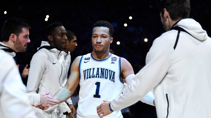 abc89c07582 Villanova s Jalen Brunson learned early that the road to basketball success  is a long one