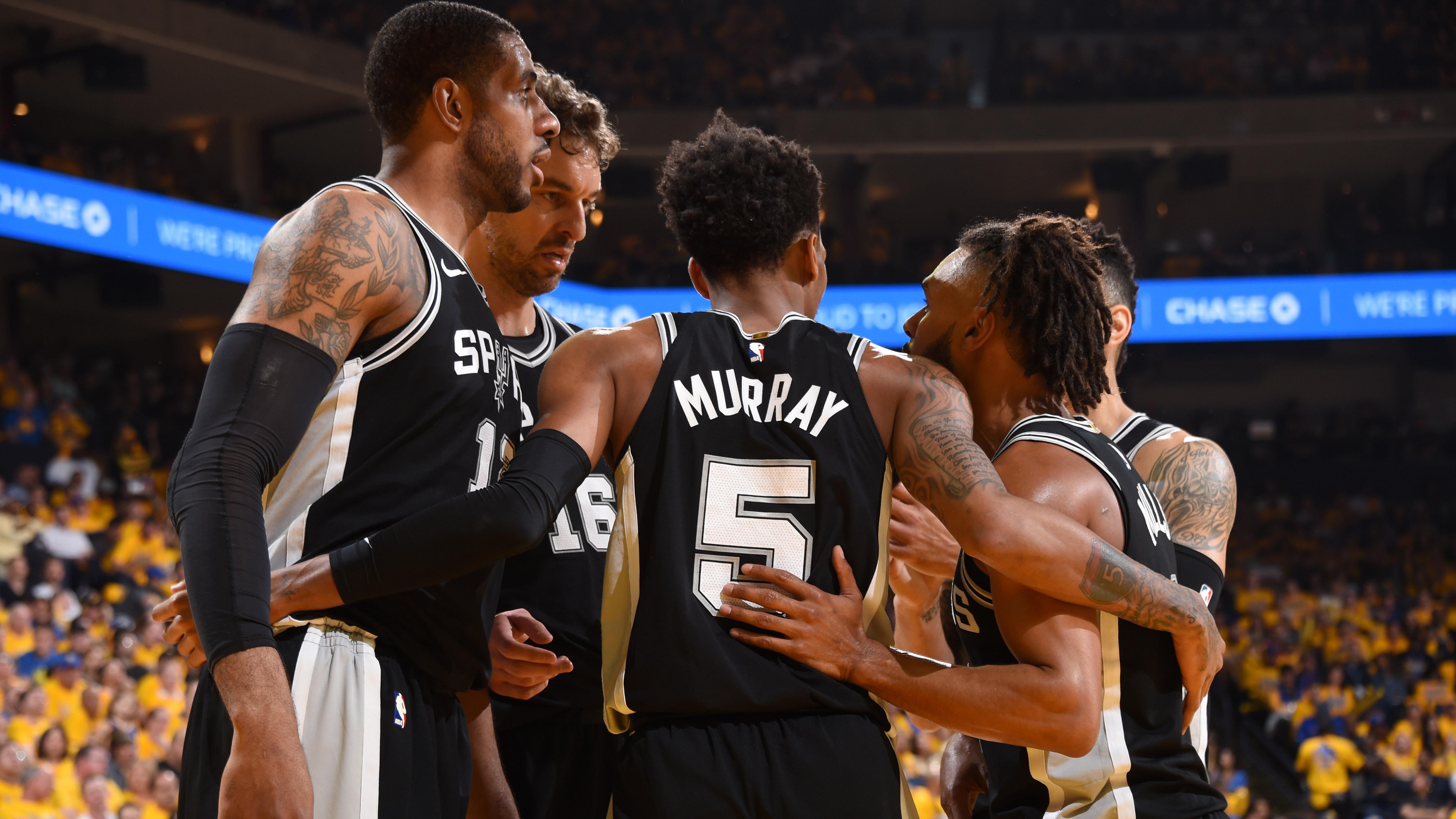 San Antonio Spurs v Golden State Warriors – Game One
