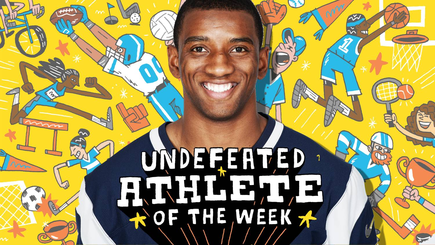 Malcolm mitchells appetite for reading has created an army of book undefeated athlete of the week malvernweather Gallery