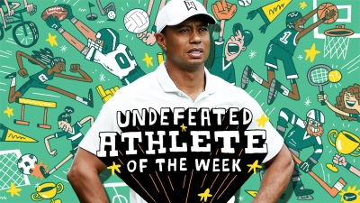 tigerWoods Athlete of the Week