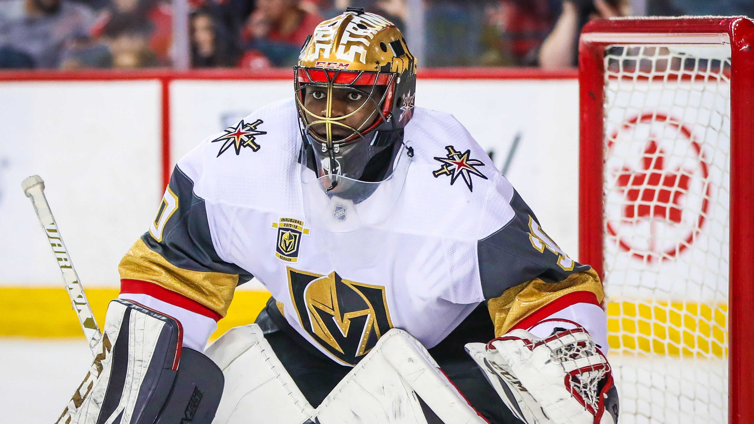 NHL: Vegas Golden Knights at Calgary Flames
