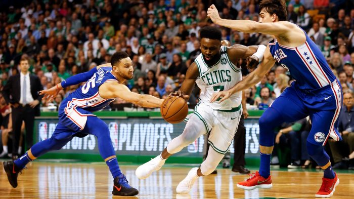 NBA  Playoffs-Philadelphia 76ers at Boston Celtics 4b8aabb26