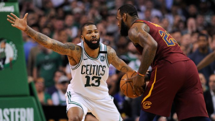 1c41fe404bf4 LeBron James  42-point triple-double fails to intimidate feisty Celtics